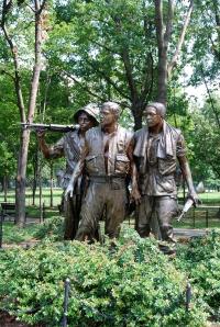 A part of the Vietnam War Memorial