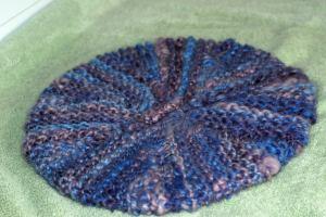 Purple Urchin drying