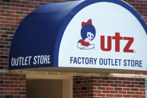 The Utz factory store in Hanover PA