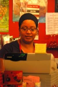Karida Hard at Work