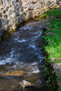 This lovely creek runs thru Shepherdstown WV