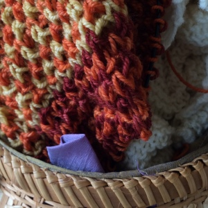 Even my knitting matches the change of seasons